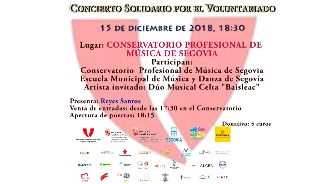 Semana Solidaria- Concierto por el Voluntariado