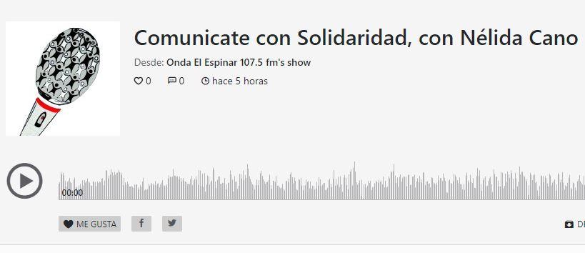 "Entrevista de ""Onda el Espinar"" a Nélida"