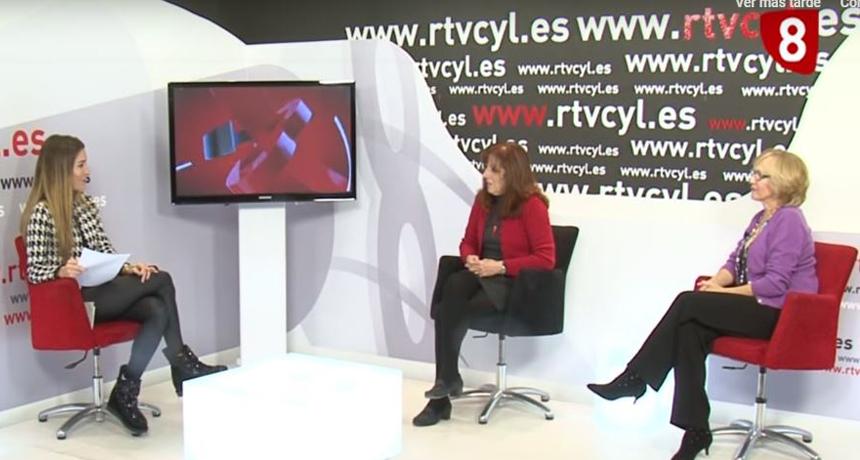 Entrevista de RTVCyL a Nélida y Reyes