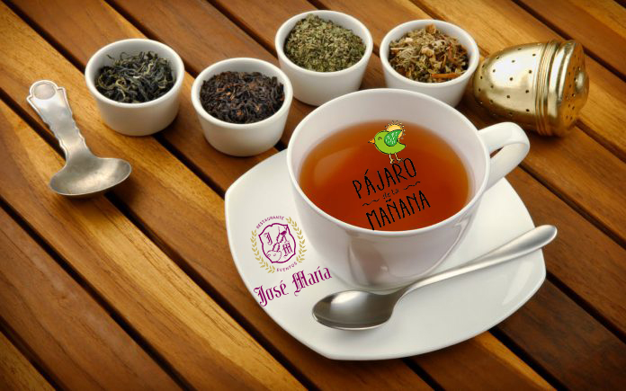 Degustación de té solidaria/ Pájaro de la Mañana-Restaurante José María