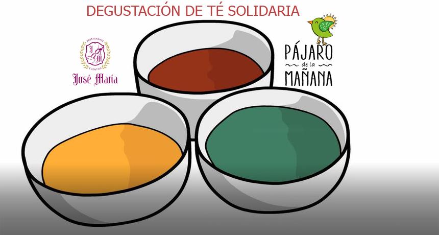 Celebración degustación de té solidaria