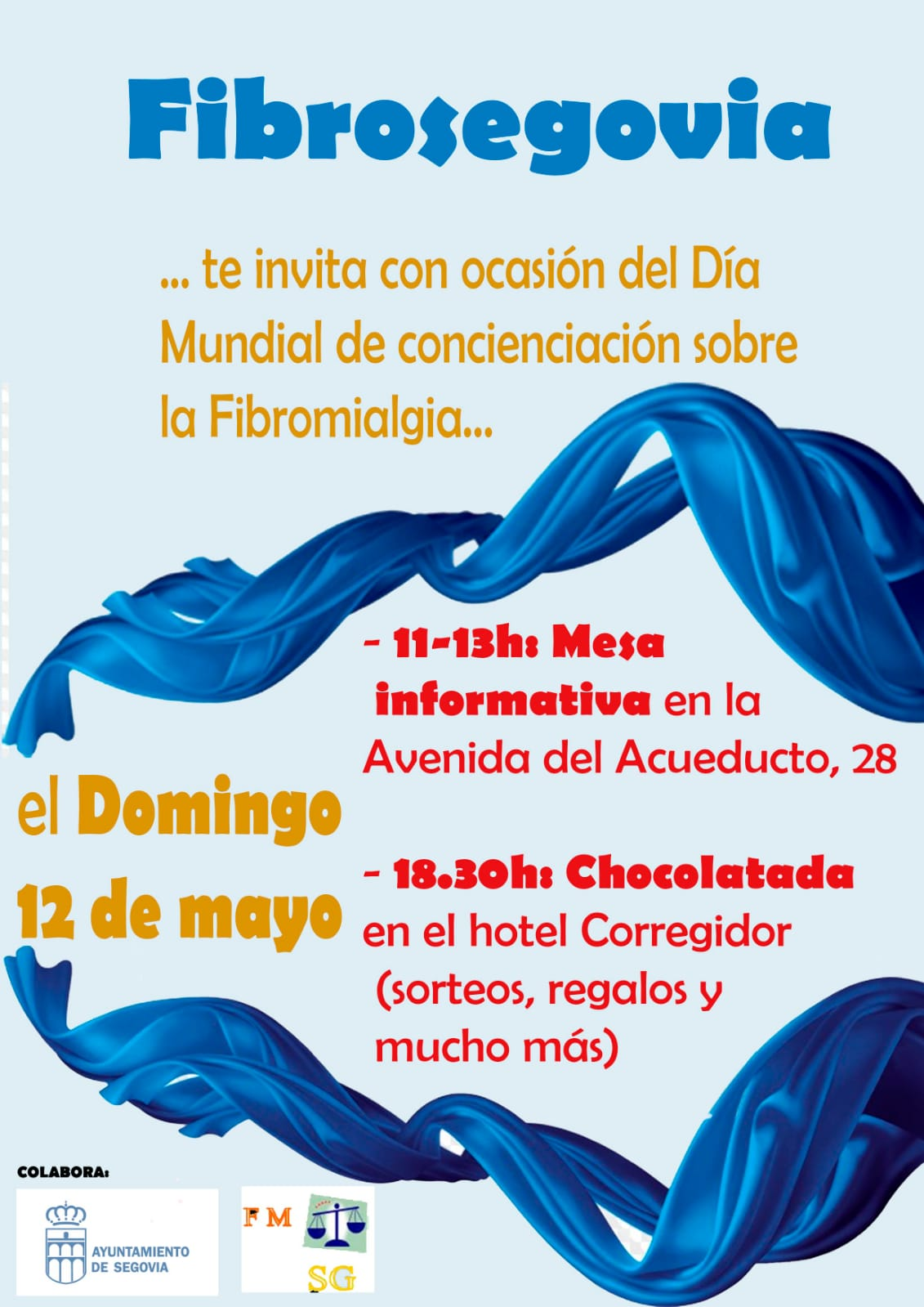 Día Mundial de la Fibromialgia-Actividades (12/05/2019)