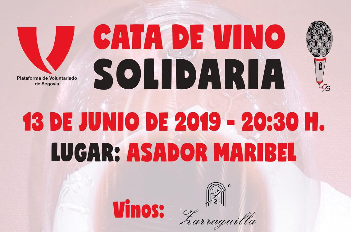 Cata de vino Solidaria
